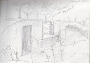 tekening bunker Greet