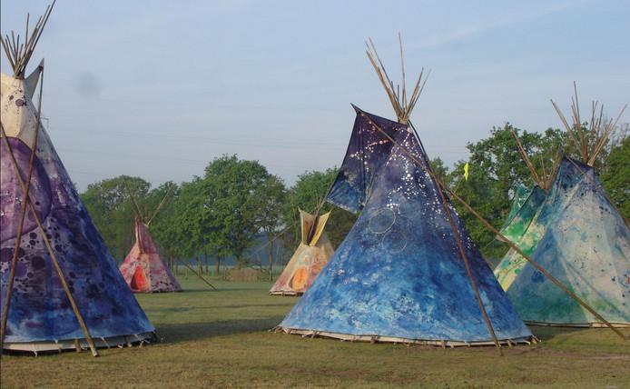 drie tenten proef jiskefet
